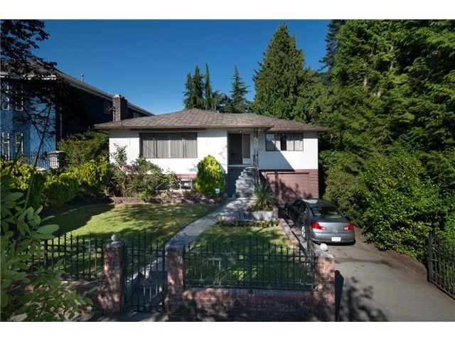 "Main Photo: 813 FOURTEENTH Street in New Westminster: West End NW House for sale in ""WEST END"" : MLS®# V1078398"