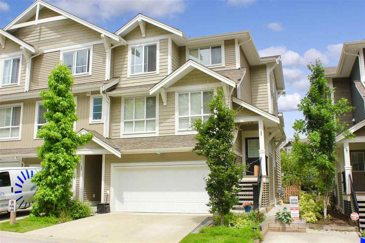 """Main Photo: 32 7059 210 Street in Langley: Willoughby Heights Townhouse for sale in """"ALDER"""" : MLS®# R2493055"""