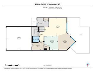 Photo 43: 408 86 Street in Edmonton: Zone 53 House for sale : MLS®# E4261895