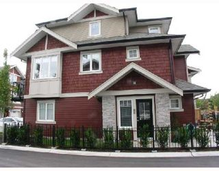 "Photo 2: 20 6188 BIRCH Street in Richmond: McLennan North Townhouse for sale in ""BRANDYWINE LANE"" : MLS®# V671396"