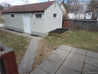 Photo 11: 805 Weatherdon Avenue in WINNIPEG: Manitoba Other Residential for sale : MLS®# 1409357