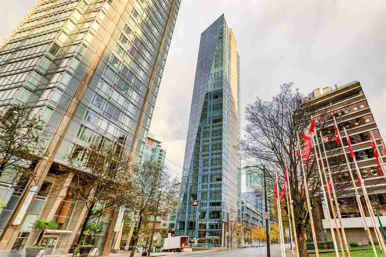 """Main Photo: 2701 1499 W PENDER Street in Vancouver: Coal Harbour Condo for sale in """"West Pender Place"""" (Vancouver West)  : MLS®# R2520927"""
