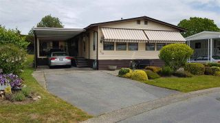 """Photo 1: 50 2303 CRANLEY Drive in Surrey: King George Corridor Manufactured Home for sale in """"SUNNYSIDE ESTATES"""" (South Surrey White Rock)  : MLS®# R2370362"""