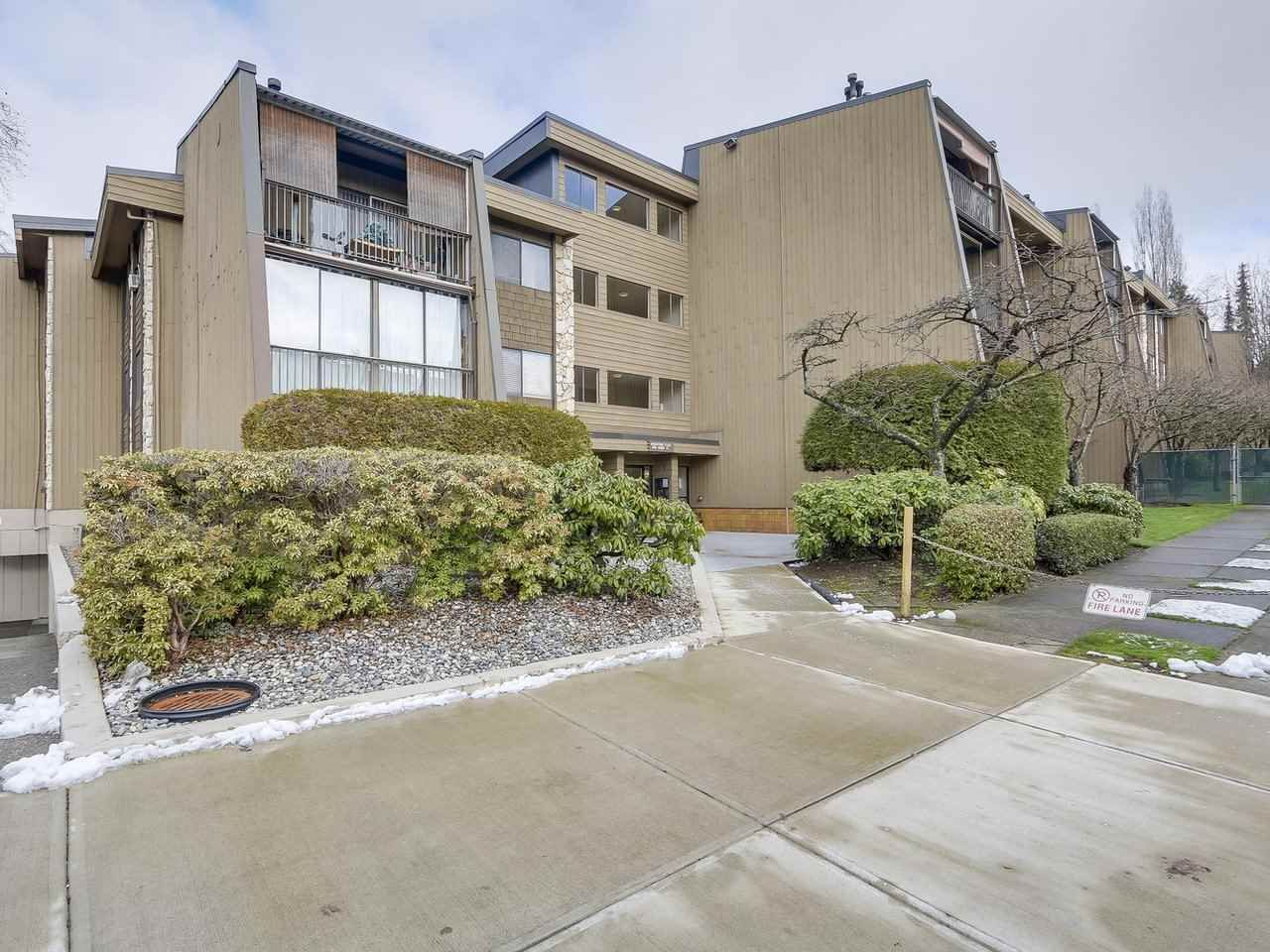 """Main Photo: 318 9101 HORNE Street in Burnaby: Government Road Condo for sale in """"Woodstone Place"""" (Burnaby North)  : MLS®# R2239730"""