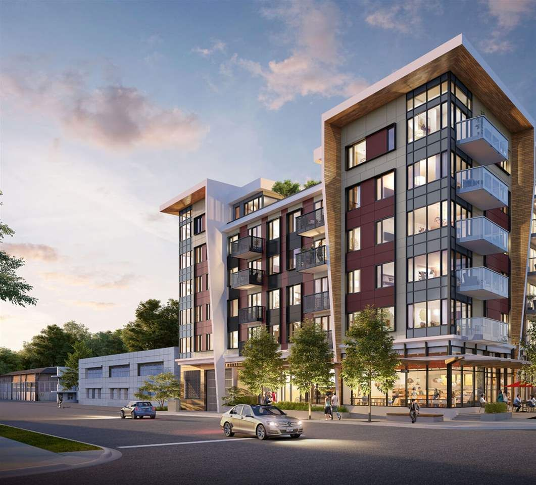 """Main Photo: 212 1496 CHARLOTTE Road in North Vancouver: Lynnmour Condo for sale in """"The Brooklynn"""" : MLS®# R2569312"""