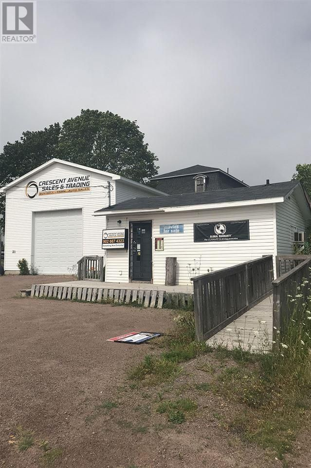 Main Photo: 21 Crescent Avenue in Amherst: Retail for sale : MLS®# 202117722