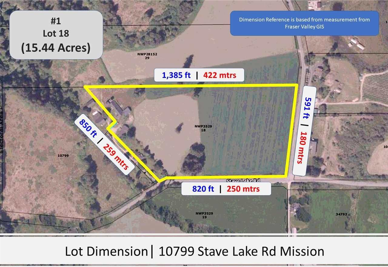 Photo 3: Photos: Sorrel 10577 STAVE LAKE Road in Mission: Durieu Land for sale : MLS®# R2583849