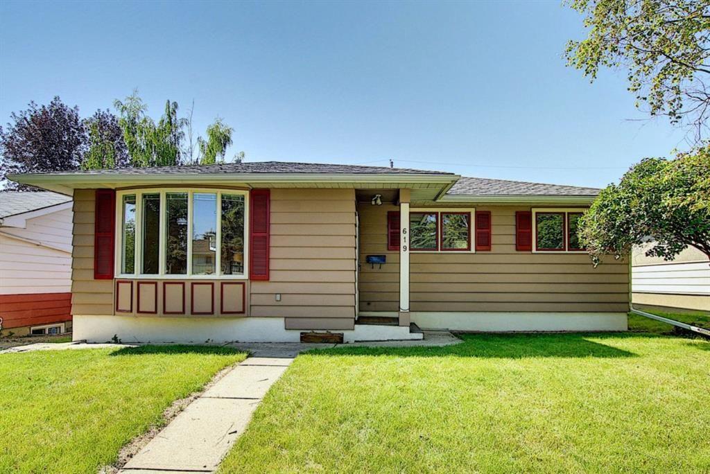 Main Photo: 619 84 Avenue SW in Calgary: Haysboro Detached for sale : MLS®# A1053481