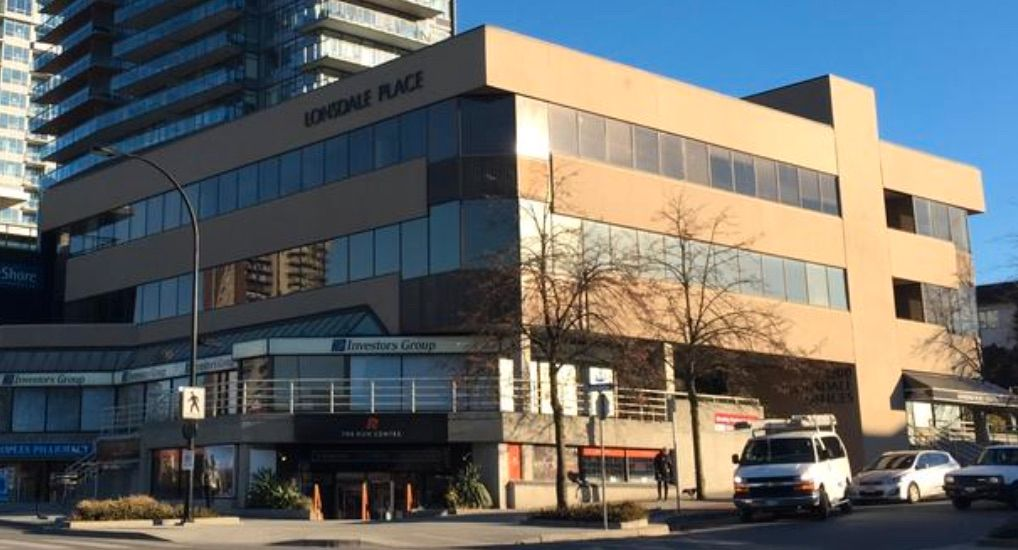 Main Photo: #303 1200 Lonsdale Avenue in North Vancouver: Office for sale