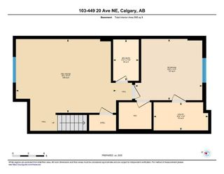 Photo 33: 103 449 20 Avenue NE in Calgary: Winston Heights/Mountview Row/Townhouse for sale : MLS®# A1010445