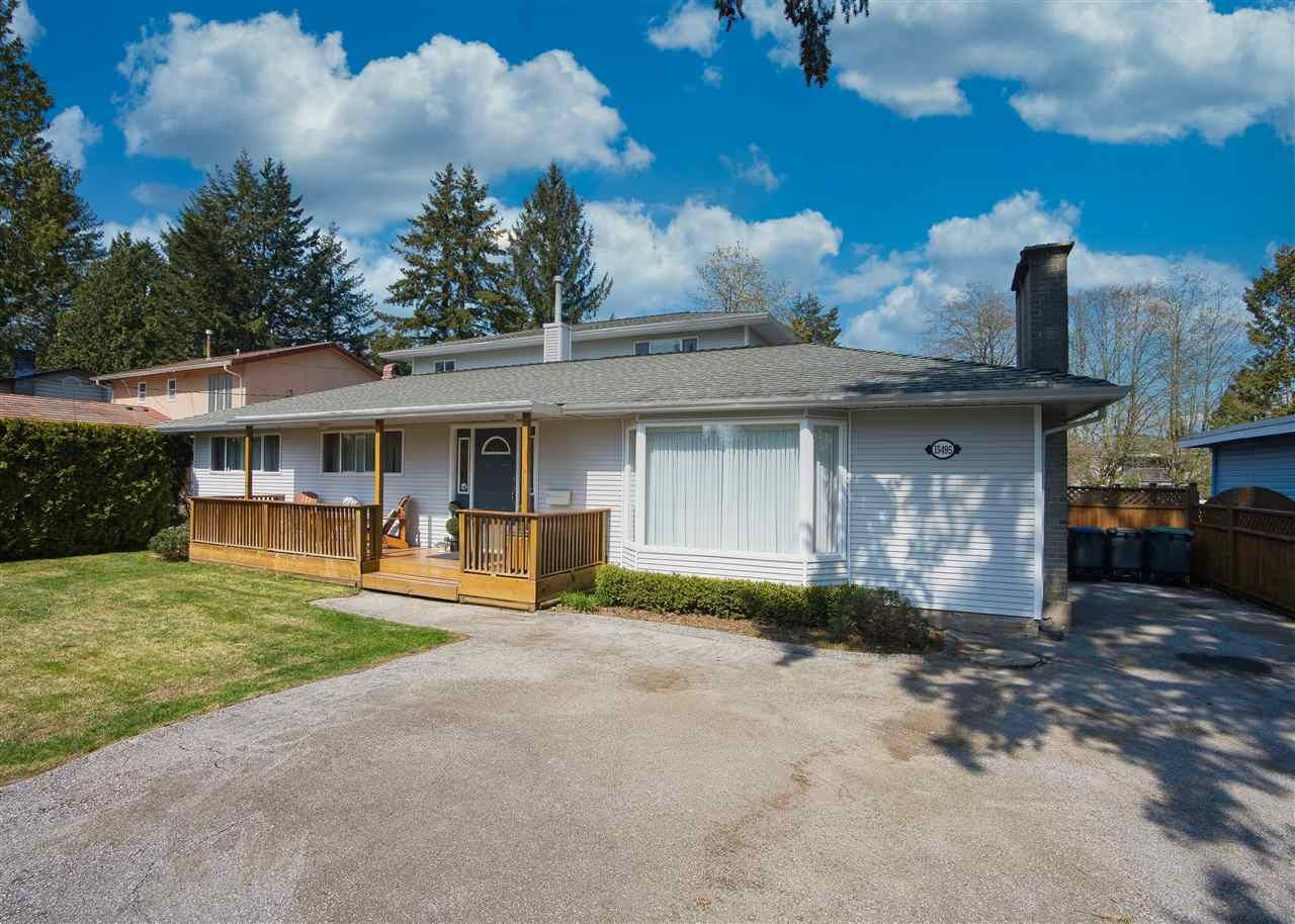 Main Photo: 15495 92 Avenue in Surrey: Fleetwood Tynehead House for sale : MLS®# R2450121