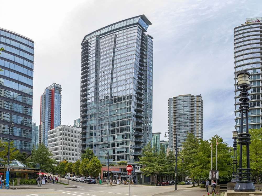 """Main Photo: 601 1205 W HASTINGS Street in Vancouver: Coal Harbour Condo for sale in """"Cielo Coal Harbour"""" (Vancouver West)  : MLS®# R2541692"""