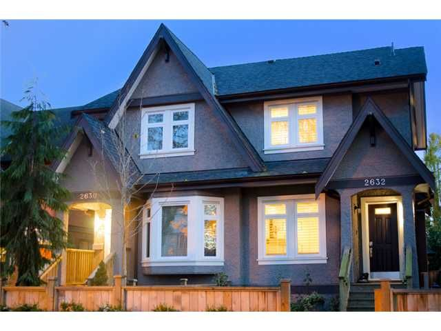 Main Photo: 2632 W 6th Avenue in Vancouver: Kitsilano 1/2 Duplex for sale (Vancouver West)  : MLS®# V920084
