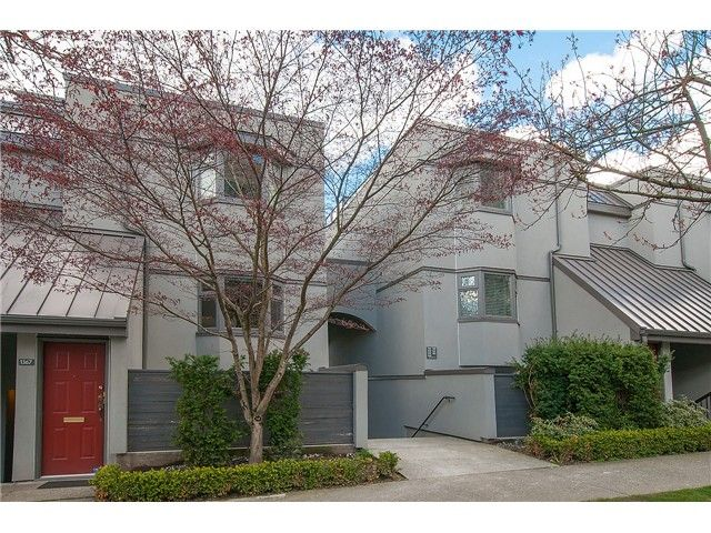 Main Photo: Map location: 1369 W 8TH Avenue in Vancouver: Fairview VW Townhouse  (Vancouver West)  : MLS®# V1113609