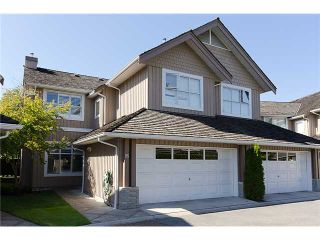 """Photo 1: 95 3555 WESTMINSTER Highway in Richmond: Terra Nova Townhouse for sale in """"SONOMA"""" : MLS®# V901887"""
