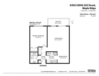 """Photo 2: 202 12096 222 Street in Maple Ridge: West Central Condo for sale in """"CANUCK PLAZA"""" : MLS®# R2591057"""