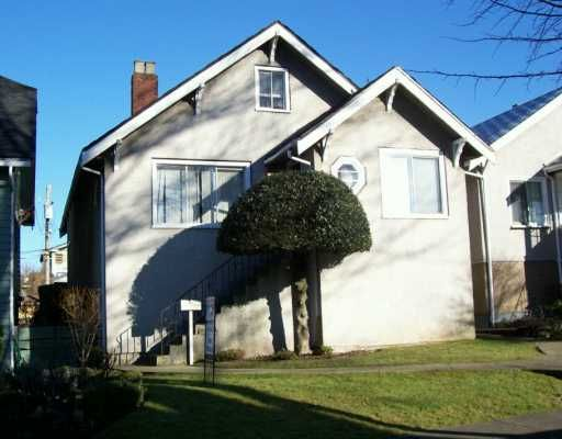 Main Photo: 3473 FRANKLIN Street in Vancouver: Hastings East House for sale (Vancouver East)  : MLS®# V628447
