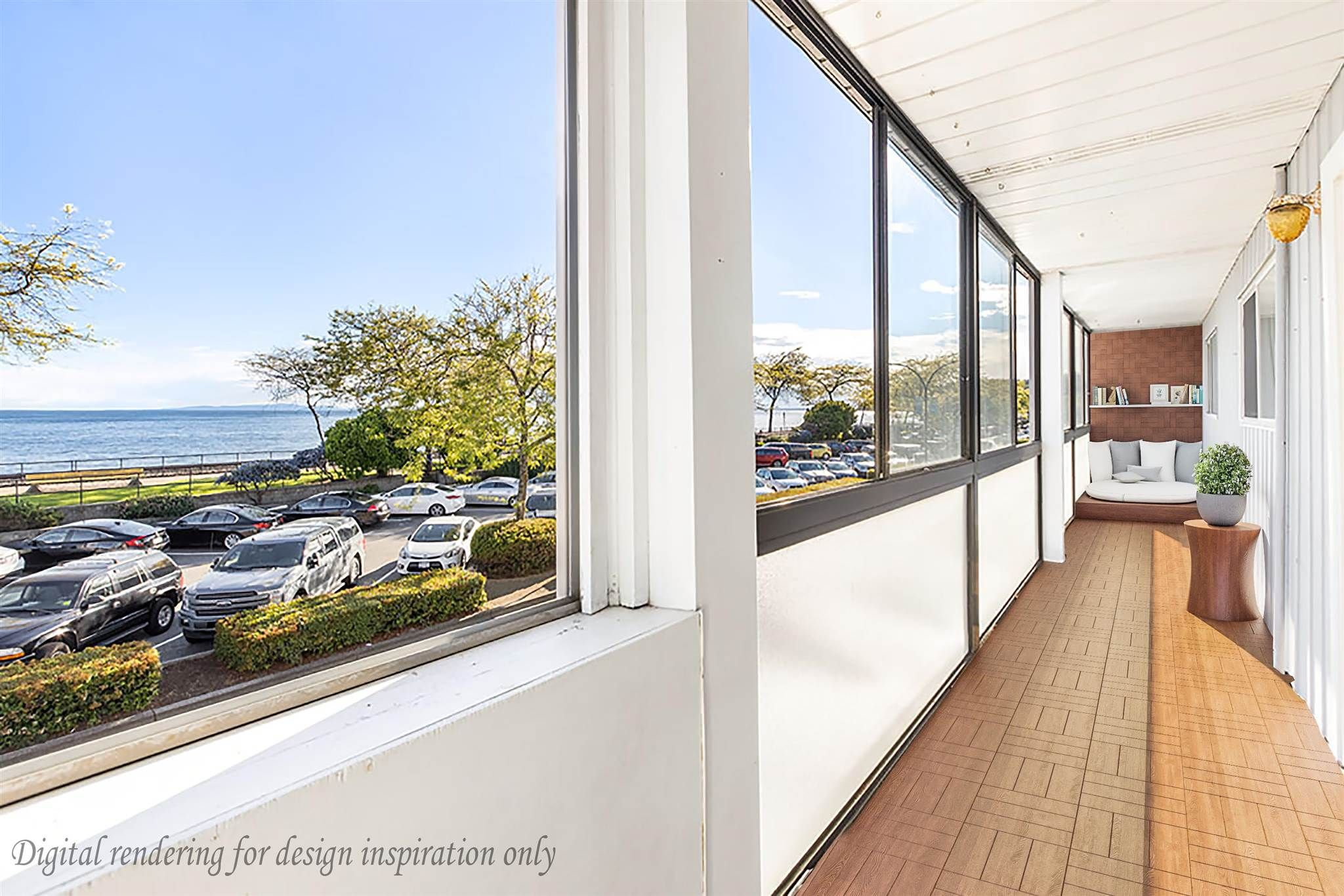 """Photo 17: Photos: 111 14881 MARINE Drive: White Rock Condo for sale in """"DRIFTWOOD ARMS"""" (South Surrey White Rock)  : MLS®# R2595780"""