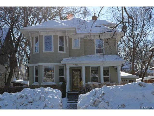 Main Photo: 1060 Grosvenor Avenue in WINNIPEG: Crescentwood Residential for sale (South Winnipeg)  : MLS®# 1403684