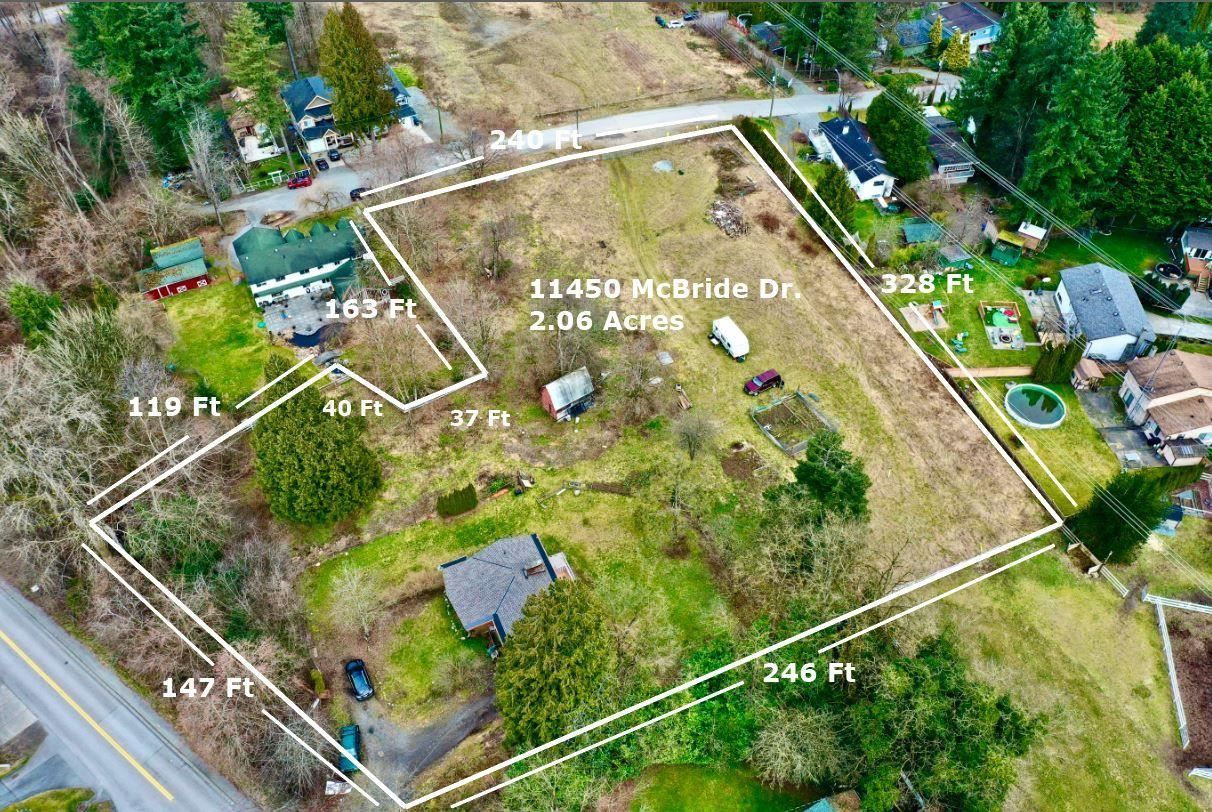 """Main Photo: 11450 MCBRIDE Drive in Surrey: Bolivar Heights House for sale in """"Bolivar Heights"""" (North Surrey)  : MLS®# R2604110"""