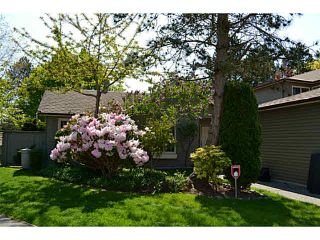 Photo 1: 1754 LILAC Drive in Surrey: King George Corridor Townhouse for sale (South Surrey White Rock)  : MLS®# F1439849