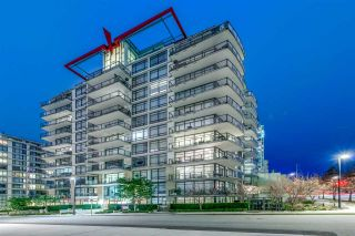 """Photo 1: 808 172 VICTORY SHIP Way in North Vancouver: Lower Lonsdale Condo for sale in """"Atrium East"""" : MLS®# R2432389"""