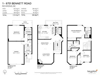 "Photo 4: 1 8751 BENNETT Road in Richmond: Brighouse South Townhouse for sale in ""Bennett Court"" : MLS®# R2504623"