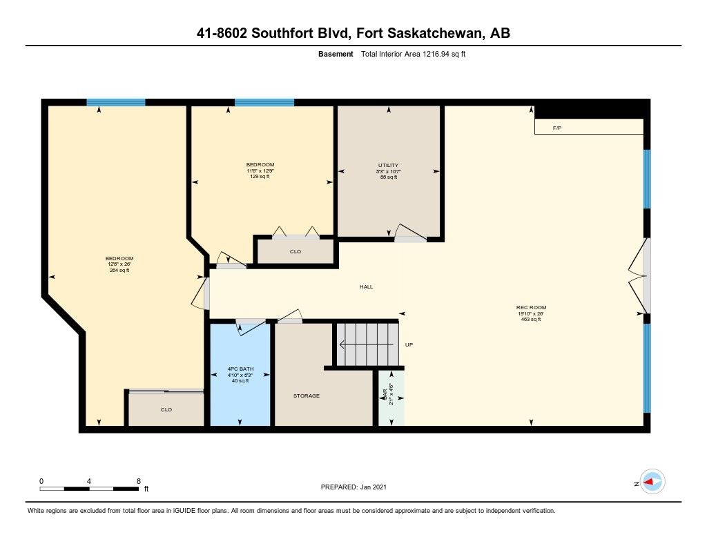 Photo 12: Photos: 41 8602 SOUTHFORT Boulevard: Fort Saskatchewan House Half Duplex for sale : MLS®# E4226387