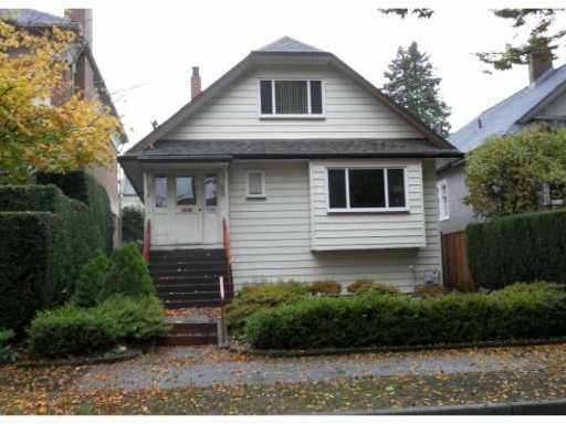Main Photo: 1081 CYPRESS Street in Vancouver: Kitsilano House for sale (Vancouver West)  : MLS®# V919284
