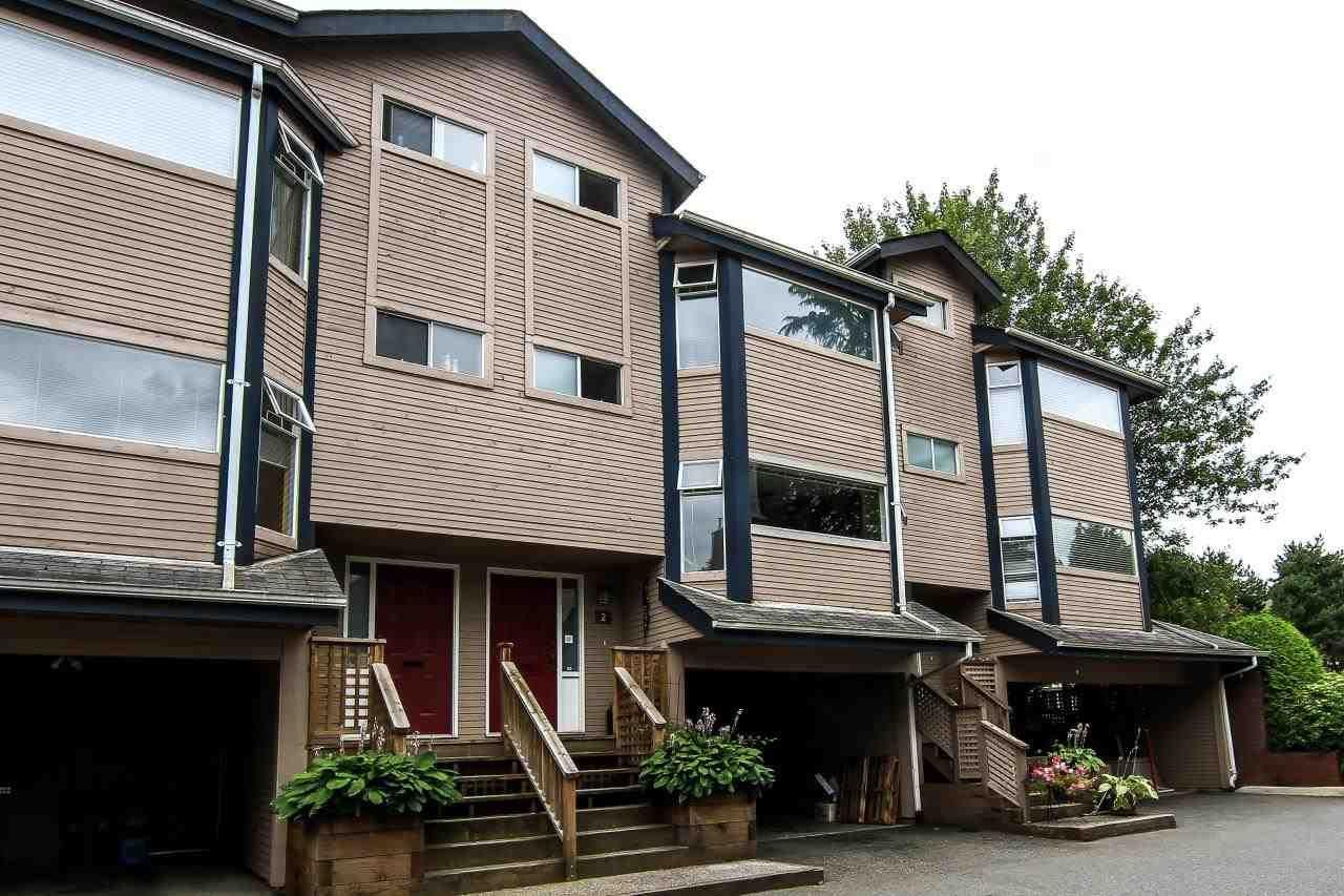 Main Photo: 2 1195 FALCON Drive in Coquitlam: Eagle Ridge CQ Townhouse for sale : MLS®# R2094331