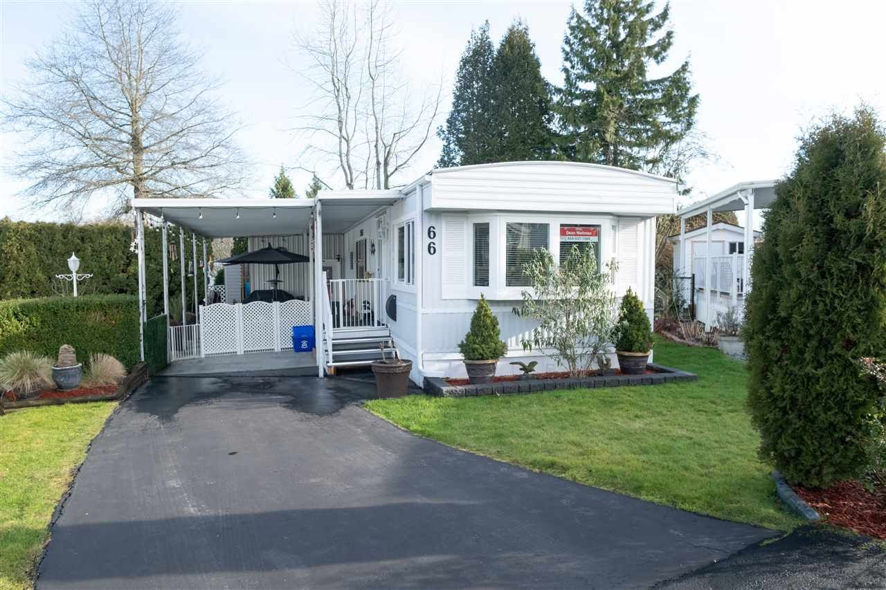 Main Photo: 66 1840 160 Street in Surrey: King George Corridor Manufactured Home for sale (South Surrey White Rock)  : MLS®# R2534834