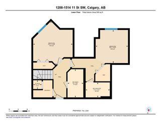 Photo 29: 1208 1514 11 Street SW in Calgary: Beltline Apartment for sale : MLS®# C4293346
