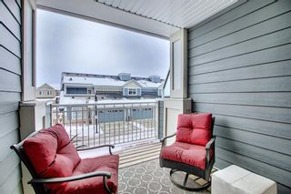 Photo 38: 191 Silverado Plains Park SW in Calgary: Silverado Row/Townhouse for sale : MLS®# A1086865