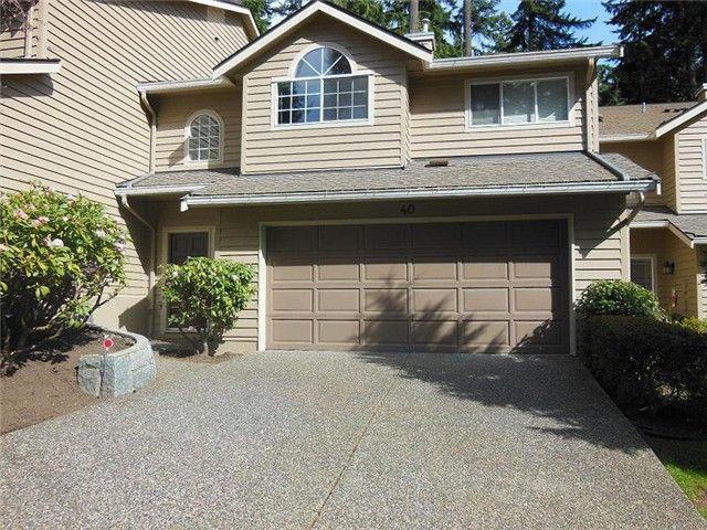 Main Photo: 40 DEERWOOD Place in Port Moody: Heritage Mountain Townhouse for sale : MLS®# V998370