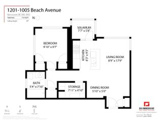 Photo 31: 1201 1005 BEACH Avenue in Vancouver: West End VW Condo for sale (Vancouver West)  : MLS®# R2618722