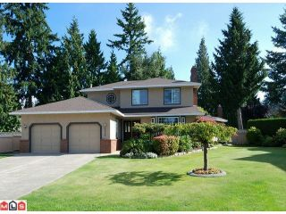 """Photo 1: 5986 SOUTHPARK Grove in Surrey: Panorama Ridge House for sale in """"BOUNDARY PARK"""" : MLS®# F1023569"""