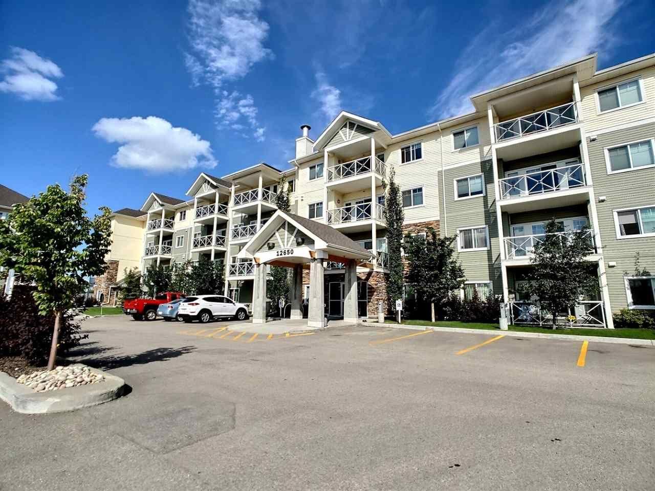 Main Photo: 309 12650 142 Avenue in Edmonton: Zone 27 Condo for sale : MLS®# E4227329