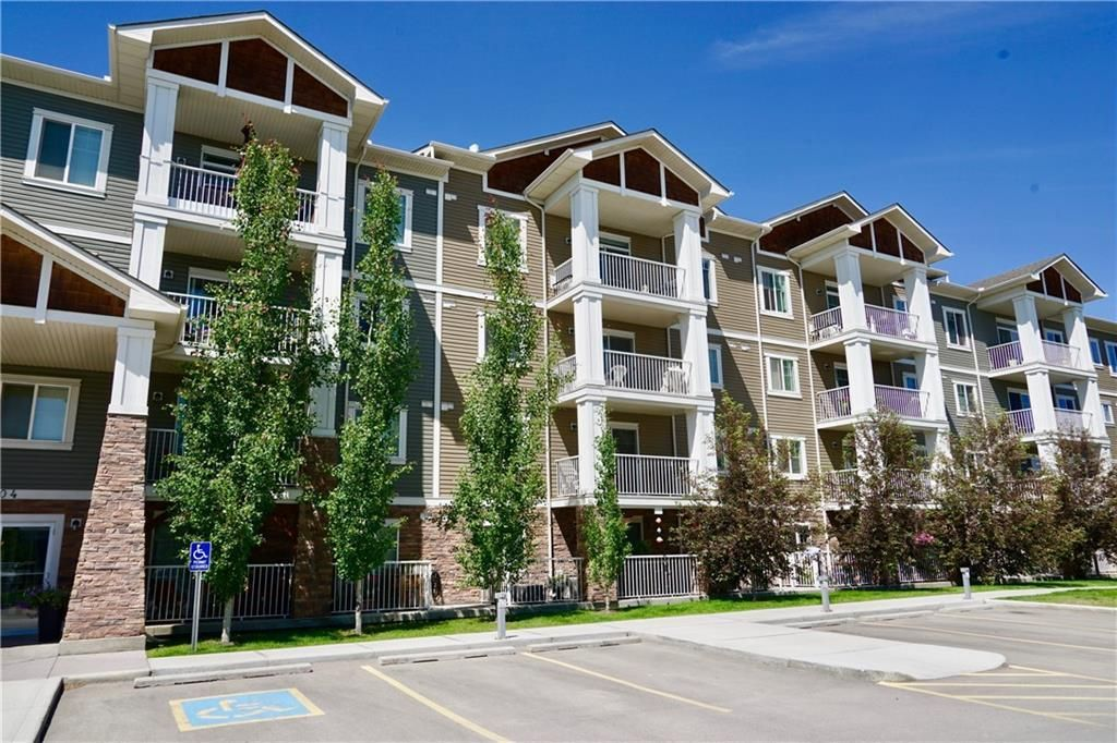 Main Photo: 308 304 Cranberry Park SE in Calgary: Cranston Apartment for sale : MLS®# A1133593