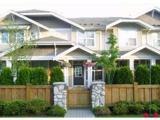"""Photo 1: # 97 20460 66TH AV in Langley: Willoughby Heights Condo for sale in """"WILLOW EDGE"""" : MLS®# F1201063"""