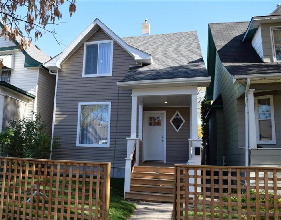 Main Photo: 683 Ashburn Street in Winnipeg: West End Residential for sale (5C)  : MLS®# 202025763