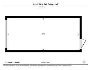 Photo 45: 1 1937 31 Street SW in Calgary: Killarney/Glengarry Row/Townhouse for sale : MLS®# A1145927