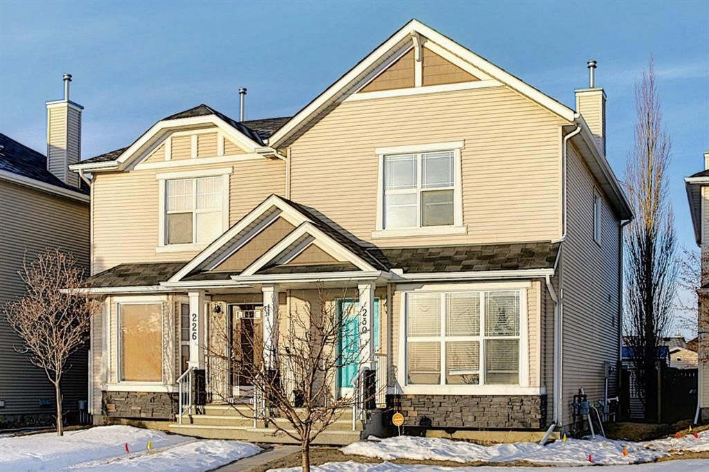 Main Photo: 230 Cramond Court SE in Calgary: Cranston Semi Detached for sale : MLS®# A1075461
