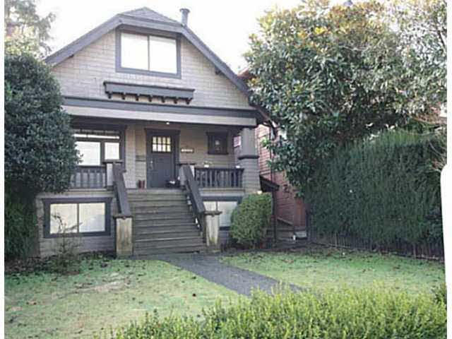 Main Photo: 3112 POINT GREY ROAD in : Kitsilano House for sale : MLS®# V1099766