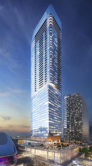 Main Photo: 4106 10360 102 Street in Edmonton: Zone 12 Condo for sale : MLS®# E4218983