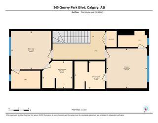 Photo 34: 340 Quarry Park Boulevard SE in Calgary: Douglasdale/Glen Row/Townhouse for sale : MLS®# A1123884