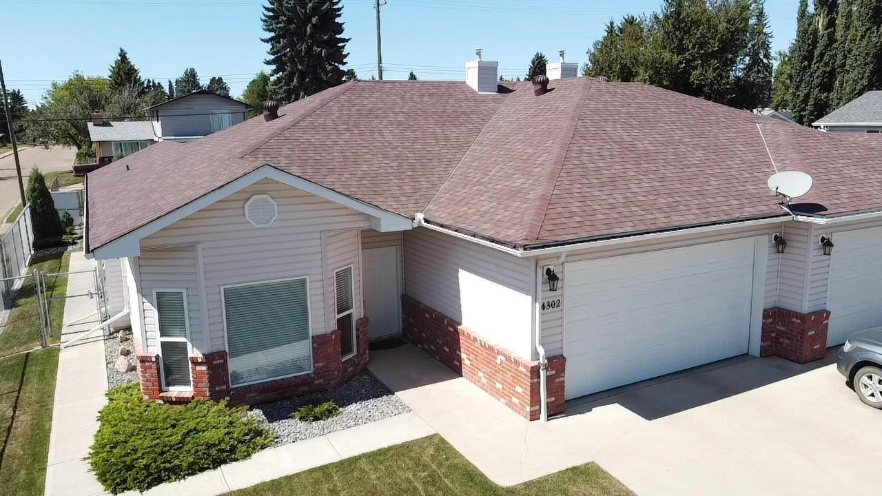 Main Photo: 4302 53 Street: Wetaskiwin House Half Duplex for sale : MLS®# E4258951
