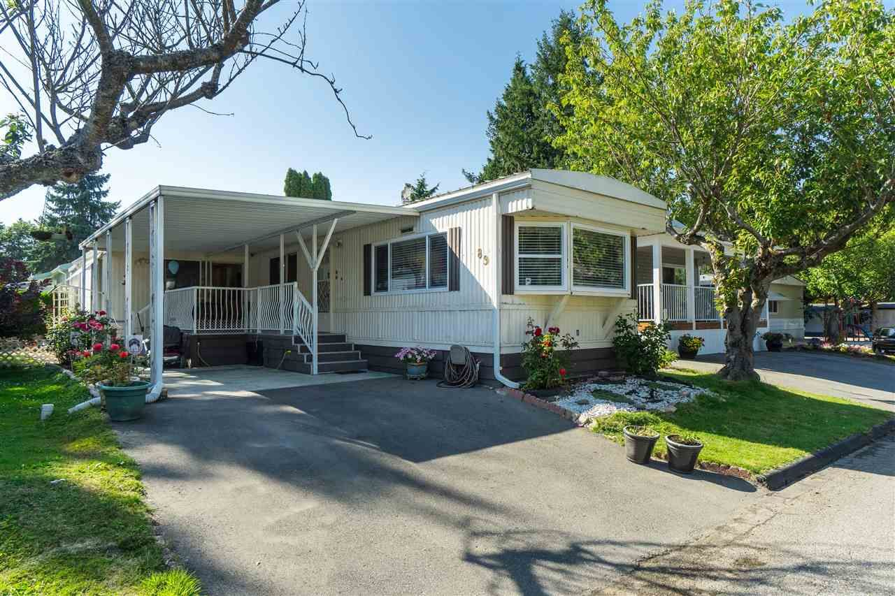 Main Photo: 89 7790 KING GEORGE BOULEVARD in : East Newton Manufactured Home for sale : MLS®# R2395552