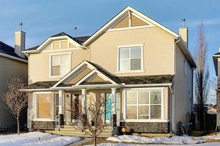 Photo 1: 230 Cramond Court SE in Calgary: Cranston Semi Detached for sale : MLS®# A1075461