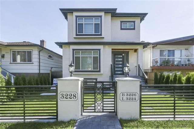 Main Photo: 3228 Napier Street in Vancouver: Renfrew VE House for sale (Vancouver East)  : MLS®# R2441039