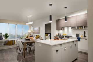 """Photo 2: A416 20727 WILLOUGHBY TOWN Centre in Langley: Willoughby Heights Condo for sale in """"The Residences at Willoughby Town Centre"""" : MLS®# R2603751"""